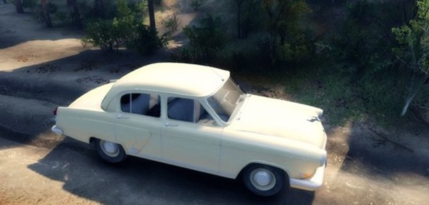 Photo of Gaz 21 Volga Araba Modu – Spin Tires 2014