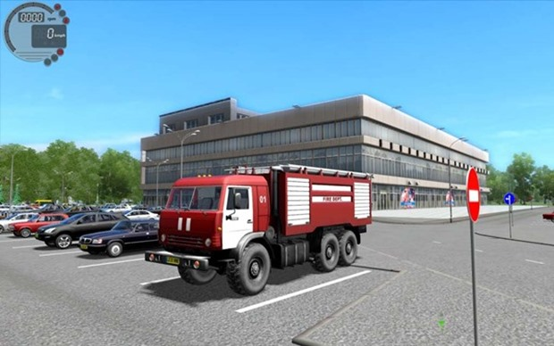 Photo of Kamaz 5350 İtfaiye Aracı – City Car Driving 1.4