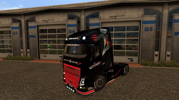 Photo of Volvo FH 2013 The Witcher 3 Tır Skini – Euro Truck Simulator 2