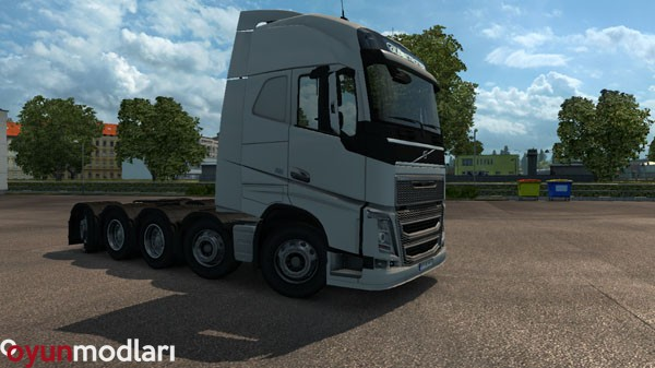 Photo of ETS 2 – [1.20.x] Volvo FH16 8×4 ve 10×4 Yeni Şasi