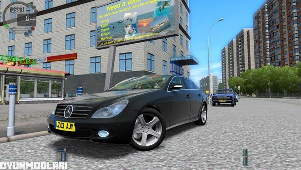 Photo of Mercedes CLS 500 W219 Araba Yaması – City Car Driving 1.4.1