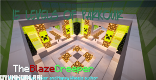Photo of 15 Levels Parkour Haritası – Minecraft