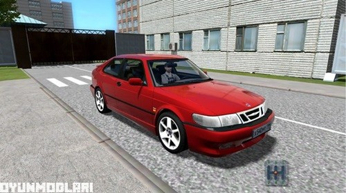 Photo of Saab 9-3 Aero 2002 Model Araba Yaması – City Car Driving 1.4.1