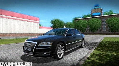 Photo of Audi A8 W12 Araba Yaması – City Car Driving 1.5.0