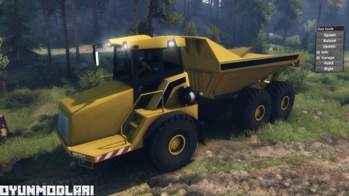 Photo of Dumper A30D Turbo – Spin Tires 2014