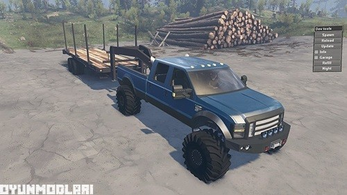 Photo of Ford F350 2008 Pick-up Yaması – Spin Tires 2014