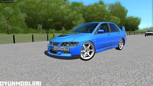 Photo of Mitsubishi Lancer Evolution IX MR Araba Yaması – City Car Driving 1.5.0