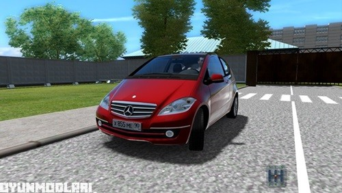 Photo of Mercedes-Benz A200 Turbo Coupe Araba Yaması – City Car Driving 1.5.0