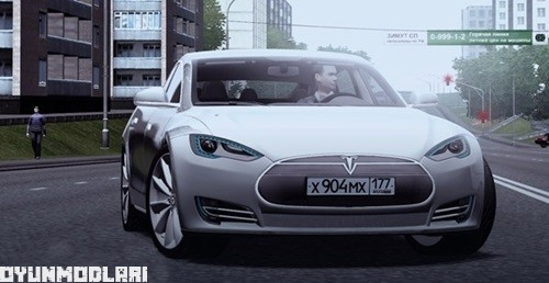 Photo of Tesla Model S Araba Yaması – City Car Driving 1.5.0