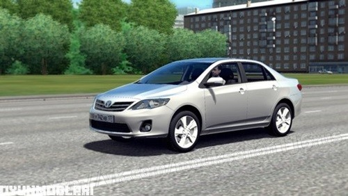 Photo of Toyota Corolla 2013 Model Araba Yaması – City Car Driving 1.5.0