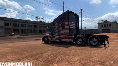 Photo of Beyaz Lastik Yanağı – American Truck Simulator