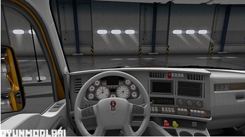 Photo of Kenworth T680 Beyaz lnterior – American Truck Simulator