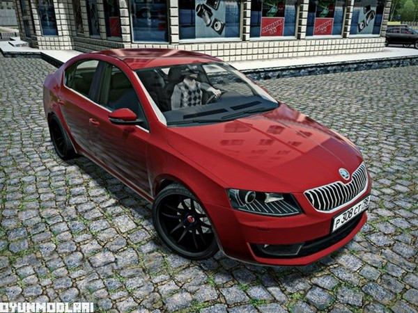 Photo of Skoda Octavia VRS Stage 1 Araba Yaması – City Car Driving 1.5.0