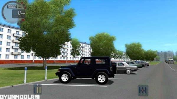Photo of Jeep Wrangler Araba Yaması – City Car Driving 1.5.0
