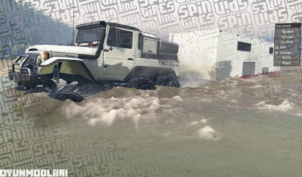 Photo of Toyota FJ40 6×6 – Spin Tires 2014