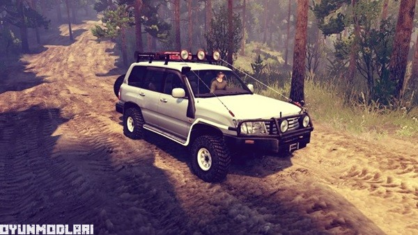 Photo of Toyota Land Cruiser 105 – Spin Tires 2014