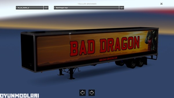 Photo of Bad Dragon Dorse Yaması – American Truck Simulator