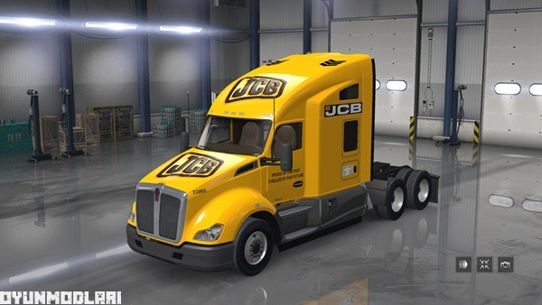 Photo of Kenworth T680 JCB Skin Yaması – American Truck Simulator