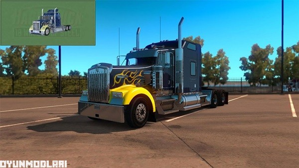 Photo of Kenworth W900 Skin Yaması – American Truck Simulator
