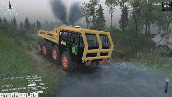 Photo of Spin Tires 2014 – Tatra 813 8×8 Kamyon