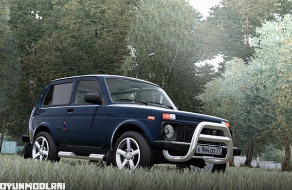 Photo of Lada 21213 Araba Yaması – City Car Driving 1.5.1