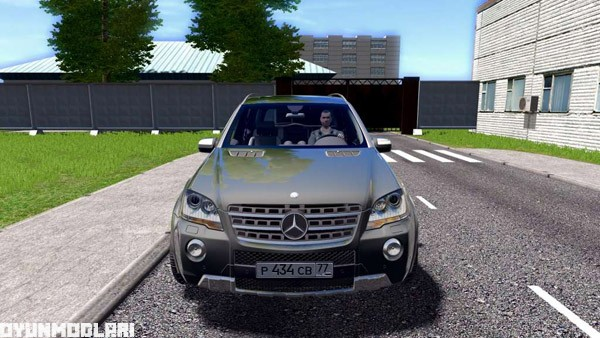 Photo of Mercedes-Benz ML63 Araba Yaması – City Car Driving 1.5.1
