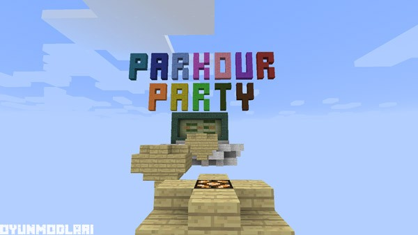 Photo of Parti Parkur Haritası – Minecraft