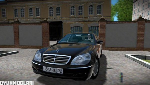 Photo of Mercedes S600 W220 Araba Yaması – City Car Driving 1.5.1