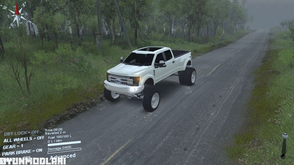 Photo of Spin Tires 2014 – Ford F450 Pickup Yaması