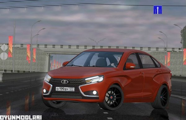 Photo of City Car Driving 1.5.1 – Lada Veste Araba Yaması