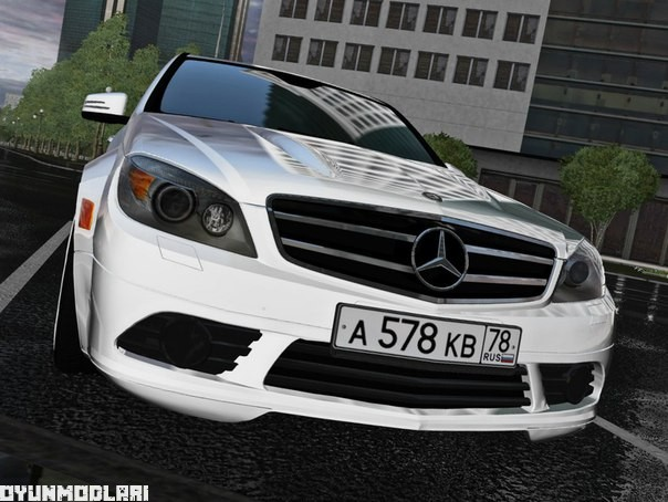 city car driving 1.5.1 – mercedes-benz c180 w204 araba yaması