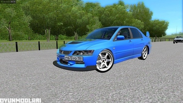 Photo of City Car Driving 1.5.1 – Mitsubishi Lancer Evolution IX MR Araba Yaması
