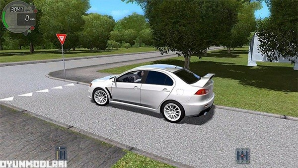 Photo of City Car Driving 1.5.1 – Mitsubishi Lancer X Araba Yaması