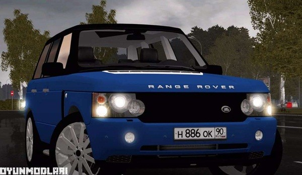 Photo of City Car Driving 1.5.1 – Range Rover 2008 Model Araba Yaması