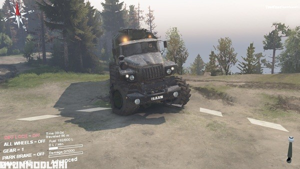Photo of Spintires 2014 – Ural Polarnik Kamyon Modu