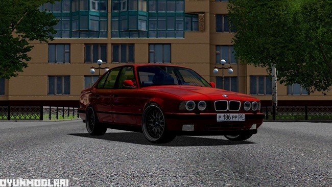 Photo of City Car Driving 1.5.1 – BMW M5 E34 Araba Yaması