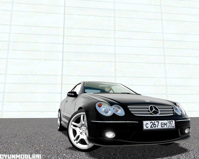 Photo of City Car Driving 1.5.1 – Mercedes CLK 55 AMG Araba Modu