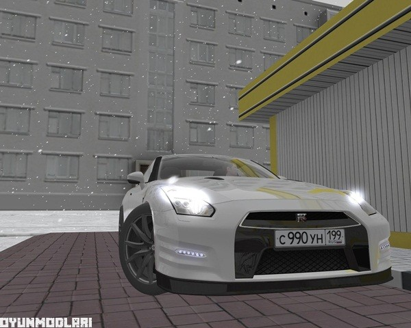 Photo of City Car Driving 1.5.1 – Nissan GTR R35 Araba Yaması