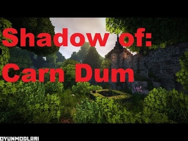 Photo of Minecraft – Shadow of Carn Düm Macera Haritası