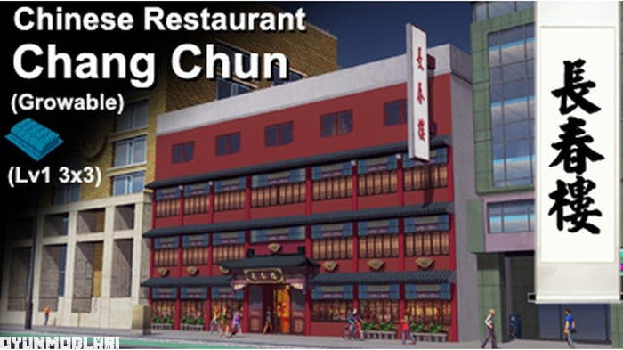 Photo of Cities:Skylines – Çin Restaurantı Chang Chun