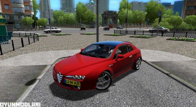 Photo of City Car Driving 1.5.2 – Alfa Romeo Brera 2009 Model Araba Yaması