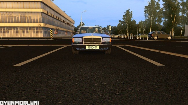Photo of City Car Driving 1.5.1 – Mercedes-Benz 560SEL W126 Araba Yaması