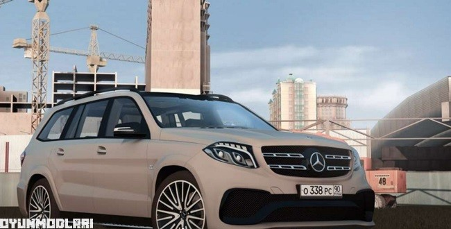 Photo of City Car Driving 1.5.2 – Mercedes GLS63 AMG Araba Yaması
