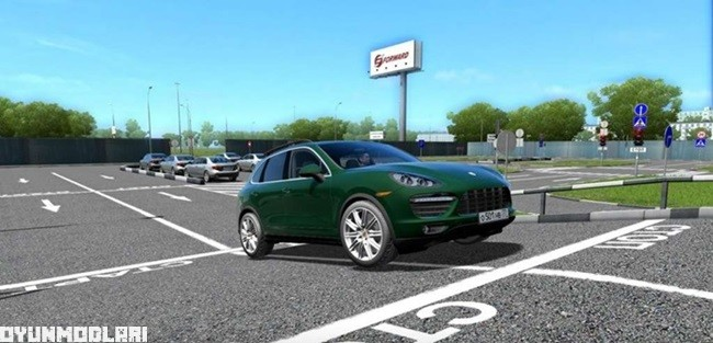Photo of City Car Driving 1.5.2 – Porsche Cayenne Araba Yaması