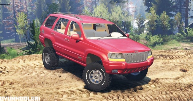 Photo of Spintires 2014 – Jeep Grand Cherokee (WJ)