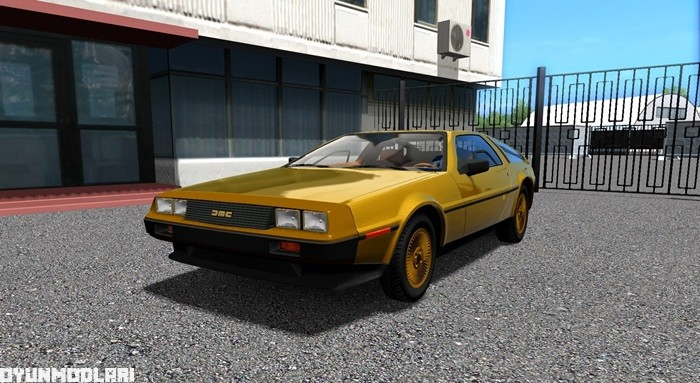 Photo of City Car Driving 1.5.3 – Delorean DMC-12 Araba Yaması