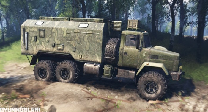Photo of Spintires 2014 – Kraz 6322 Kamyon V3