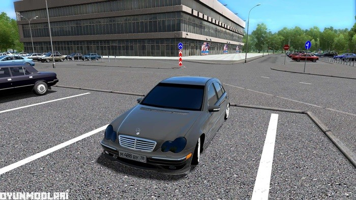 Photo of City Car Driving 1.5.3 – Mercedes-Benz C32 AMG Araba Yaması