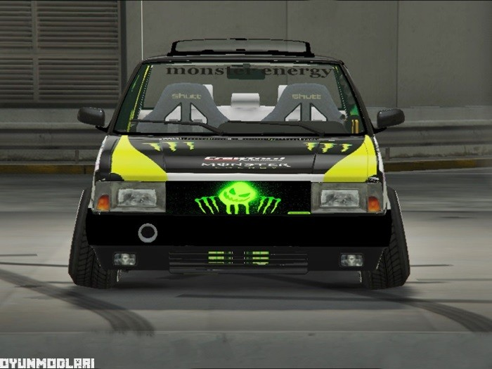 Photo of GTA V – Tofaş Monster Energy
