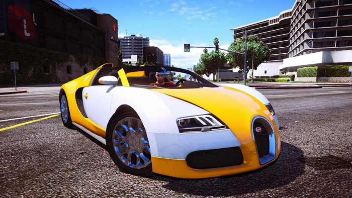Photo of GTA V – Bugatti Veyron – Grand Sport V2